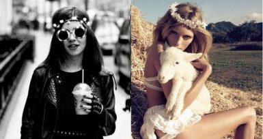 """Modanın Özgür Ruhu """"Hippie"""""""
