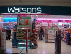 Watsons Mağazaları Adres ve Telefon Numaraları
